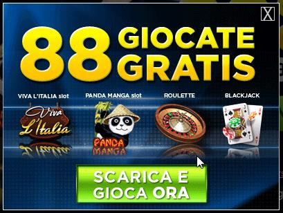 Banner casino online 888.it offerta giri gratuiti