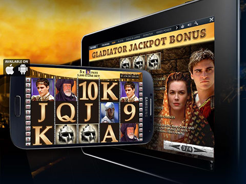 Slot Machine su tablet ed iPhone