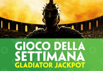Gladiator Jackpot Gioco della settimana paddy power