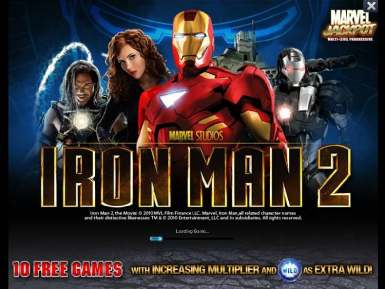Iron man 2 slot machine Marvel