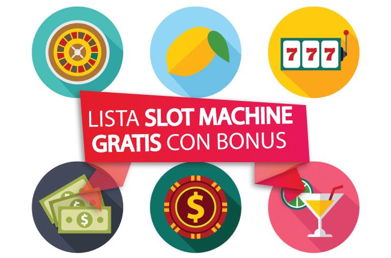 Bonus senza deposito Slot Machines