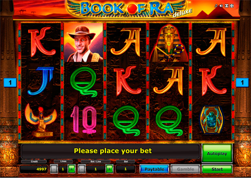 Recensione slot machine Book of Ra