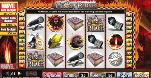 Recensione slot machine marvel Ghost Rider