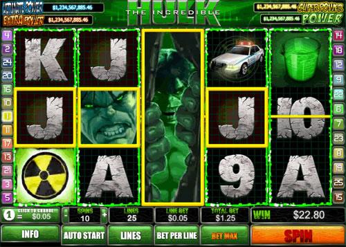 Incredibile Hulk recensione slot