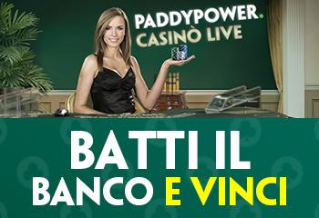 Paddy Power batti il banco e vinci