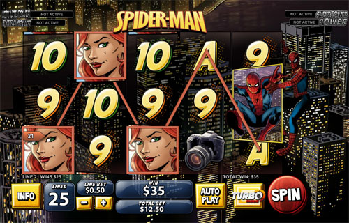 Recensione Spiderman Slot machine