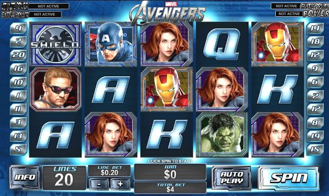 Recensione Slot The Avengers