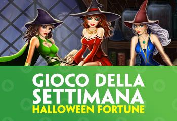 Halloween fortune gioco della settimana su Paddy Power