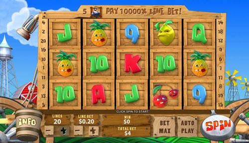 Recensione slot Funky Fruits farm