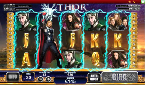 Slot Thor recensione