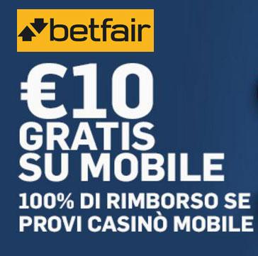 Betfair bonus casino mobile