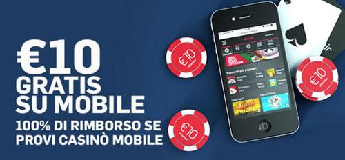 bonus betfair casino mobile
