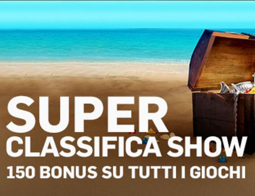 Superclassifica show betfair