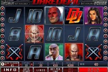 Slot Machine Daredevil