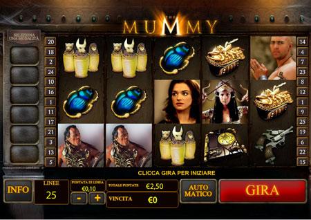 recensione slot playtech The Mummy
