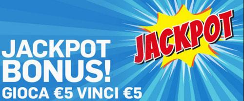 jackpot slot bonus betfair