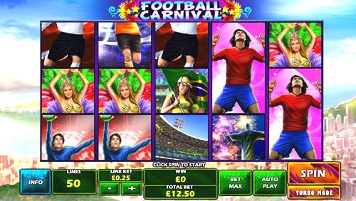 football carnival slot recensione