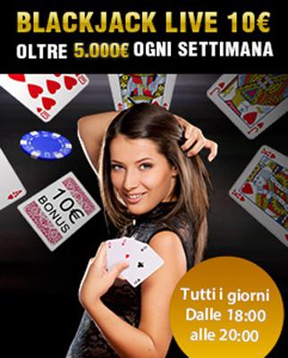 bonus casino live