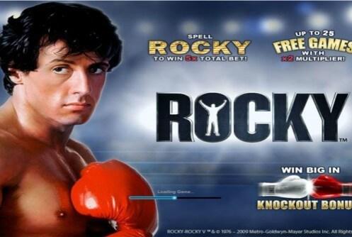 Rocky slot machine recensione