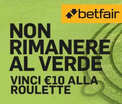 Betfair bonus roulette non rimanere al verde