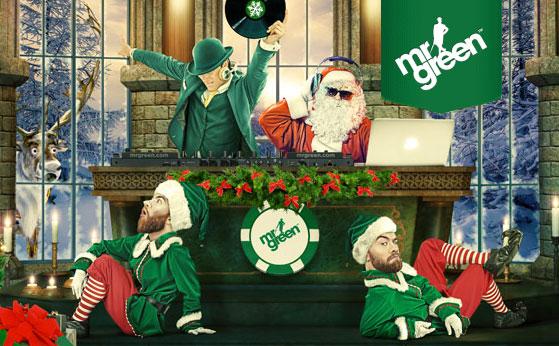 Mr.Green casino promozione Avvento