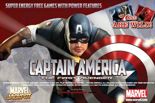 Captain America slot machine gratis marvel