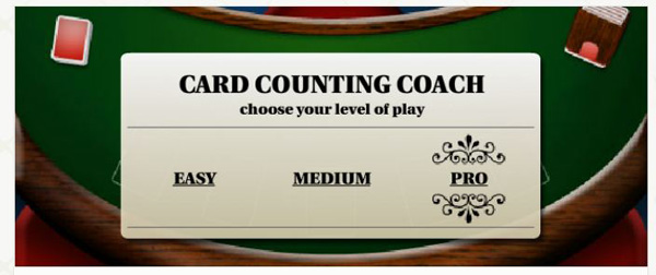 card counting coach tool