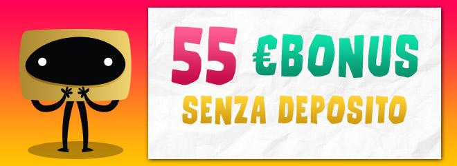 big casino bonus senza deposito