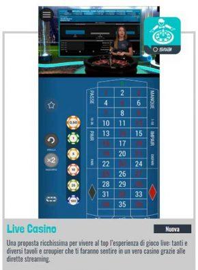 snai app casino live